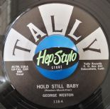"45Re ✦ GEORGE WESTON ✦ ""I Need You Baby / Hold Still Baby"" Great Guitar Jiver ♫"